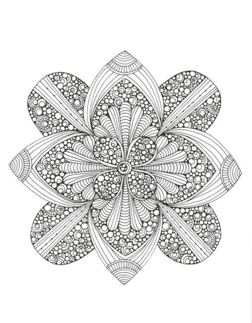 Mandalas Originales Para Pintar 2 Mandala Coloring Pages Coloring Pages Mandala Coloring