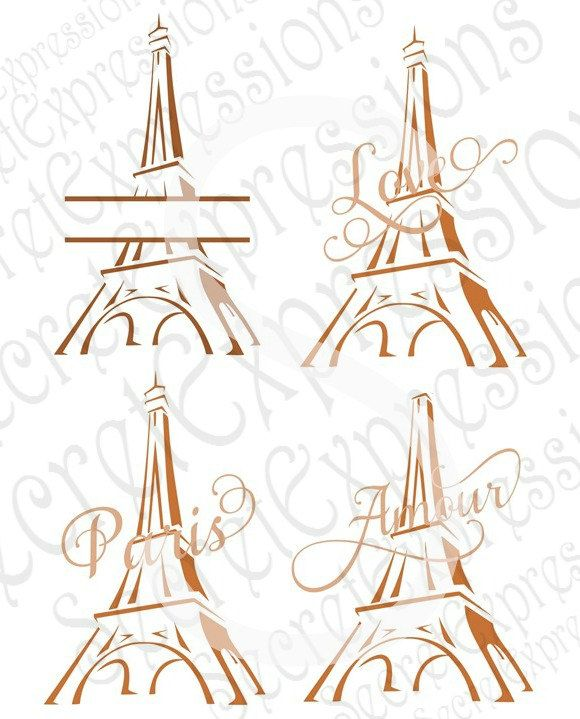 SVG Cutting File for Cricut Design Space and Silhouette Studio Eps DXF Paris svg,Wineglass,Shirt,eiffel tower,Decor,Picture PNG
