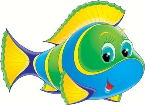 40+ Rainbow Fish Animated Clipart