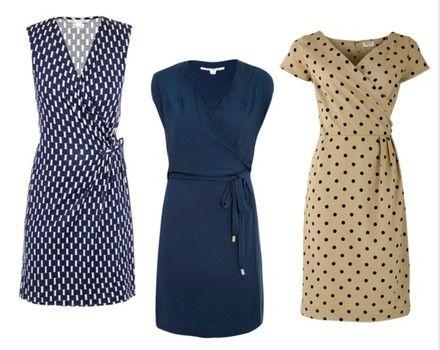 Essential pieces for a teacher's wardrobe - Wrap dress | Dresses ...