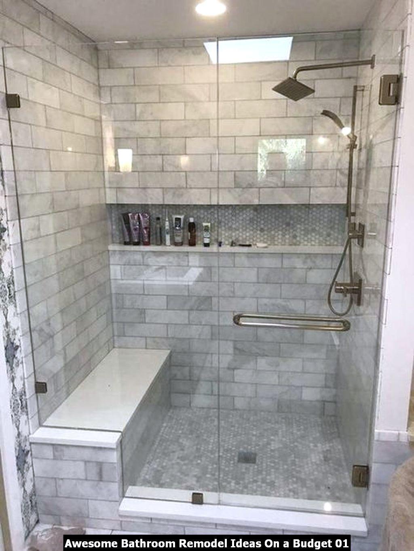 Awesome Bathroom Remodel Ideas On A Budget Di 2020 Modern Bathtub Shower