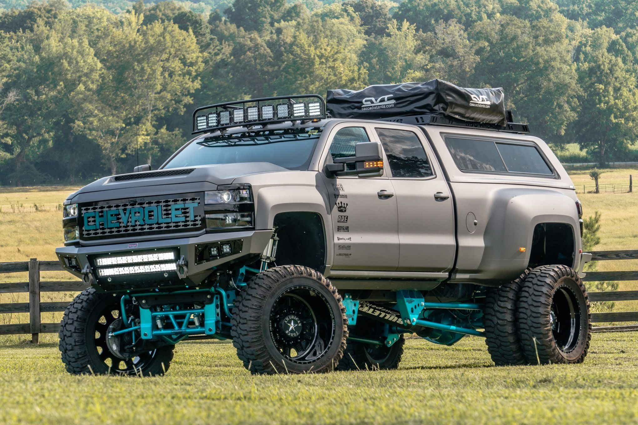 Epic Off Road Tuning And Serious Body Lift For Chevy Silverado