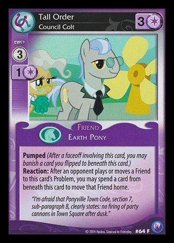 My Little Pony Card Game #64 Starry Eyes - FIXED