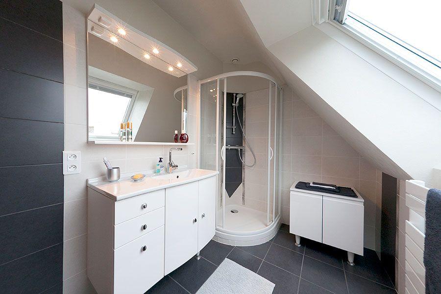 salle de bains quimper petite salle d eau brest salle. Black Bedroom Furniture Sets. Home Design Ideas