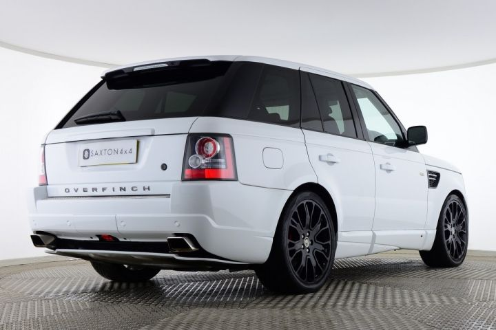 Used Land Rover Range Rover Sport Tdv6 Hse Overfinch Gts White For Sale Essex Yh11xdu Saxton 4x4 Range Rover Sport Used Range Rover Range Rover