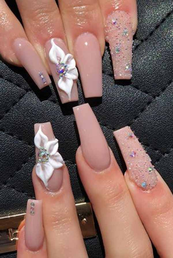 40 Unique And Special Coffin Long Nail Art For You #longnails