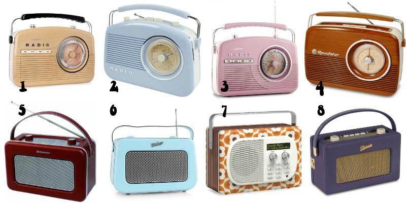 Retrouvez ma sélection des 8 plus belles radios vintage et rétro ...