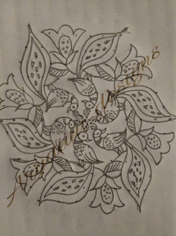 Pencil Art 3d Rangoli Drawing - animal Pencil Drawing