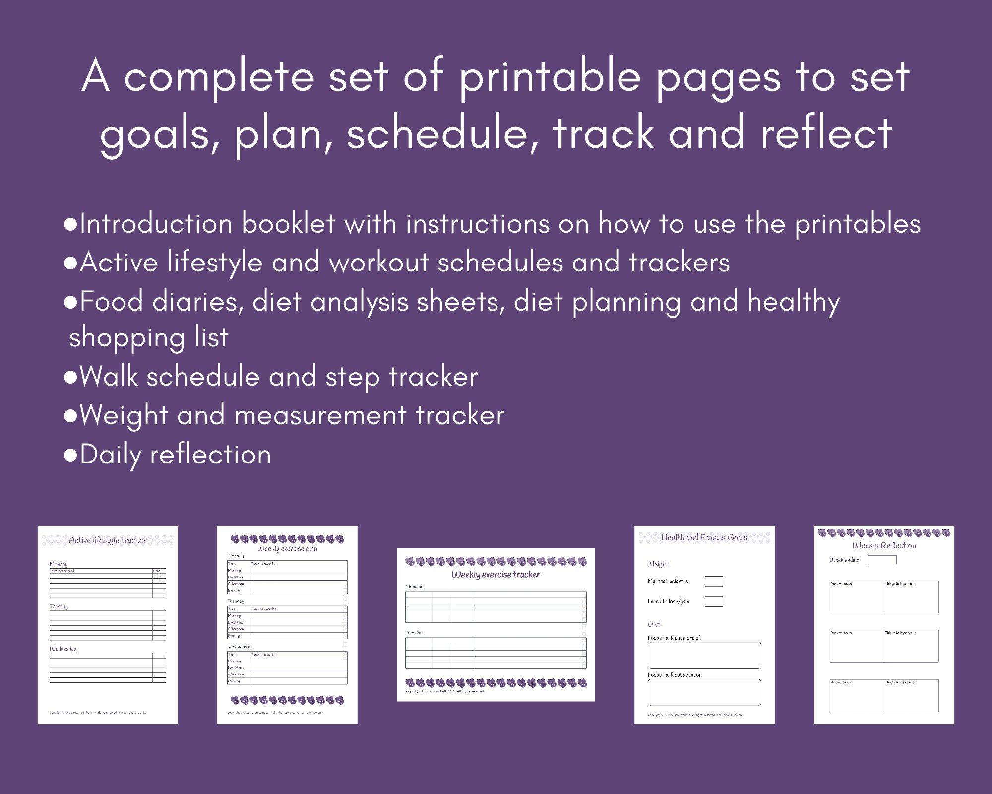 Self Care Planner Set