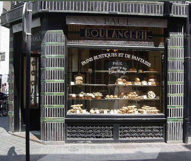 Paul Boulangerie in Lille, France. literally the best breads in the world lol. in 2019 Lille
