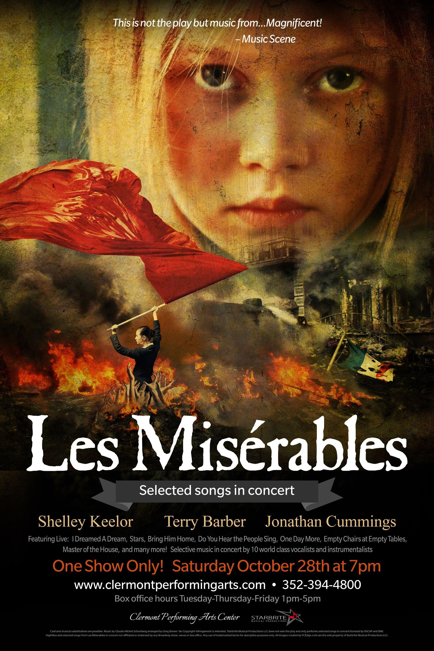 excited about the new Les Mis synopsis in Concert launching this