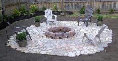 Quikrete Do It Yourself Patio. Just Bought This Walkmaker! I Will Be Doing  Something Like This To Our Firepit THIS Spring.