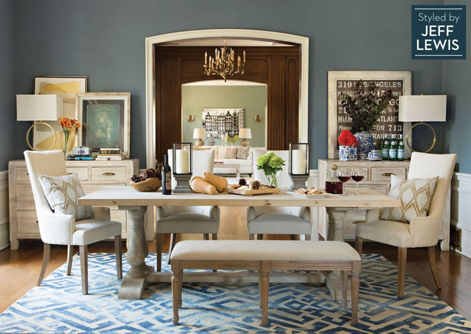 Living Spaces Fine Dining Styled By Jeff Lewis Home Dining