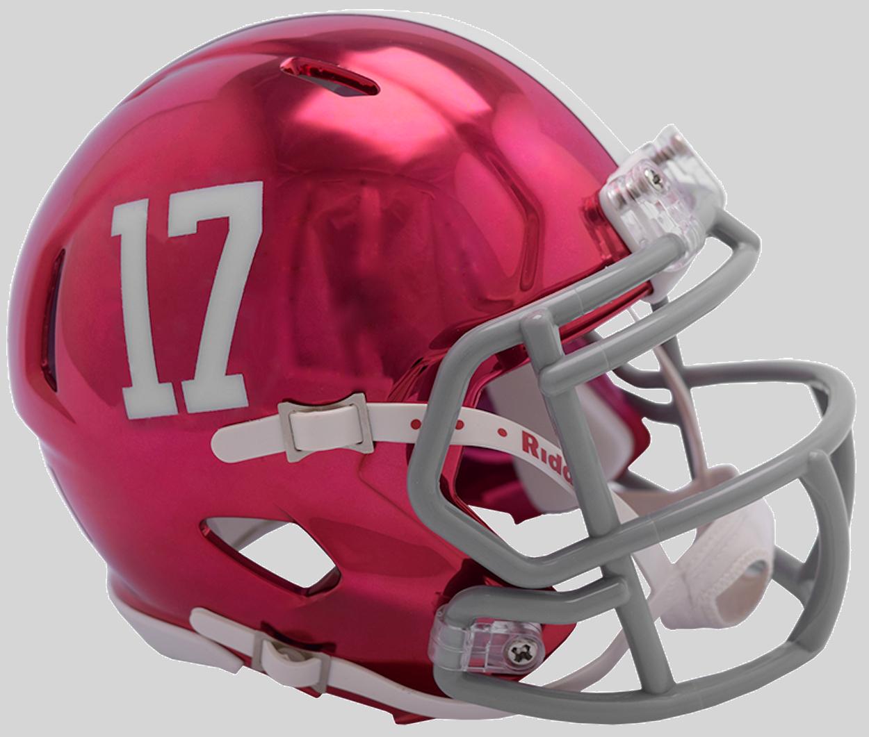 Speed Clc Alab Http Www 757sc Com Products Speed Clc Alabama Chrome Mini Helmet Utm Campaign Socia Mini Football Helmet Football Helmets Mini Footballs