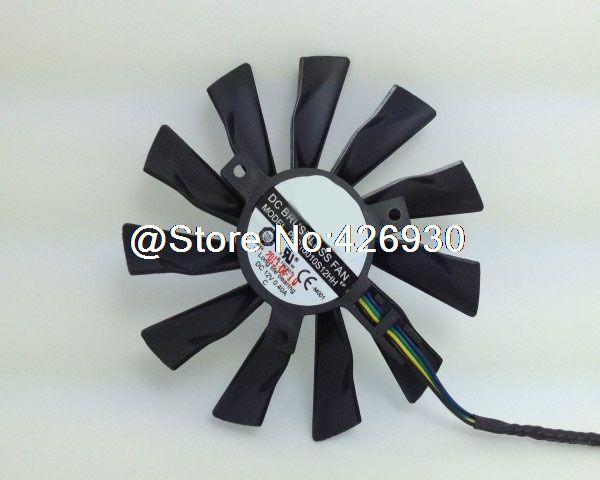 Laptop CPU FAN For MSI R9-280X R9-270X R7-260X Graphics Fan