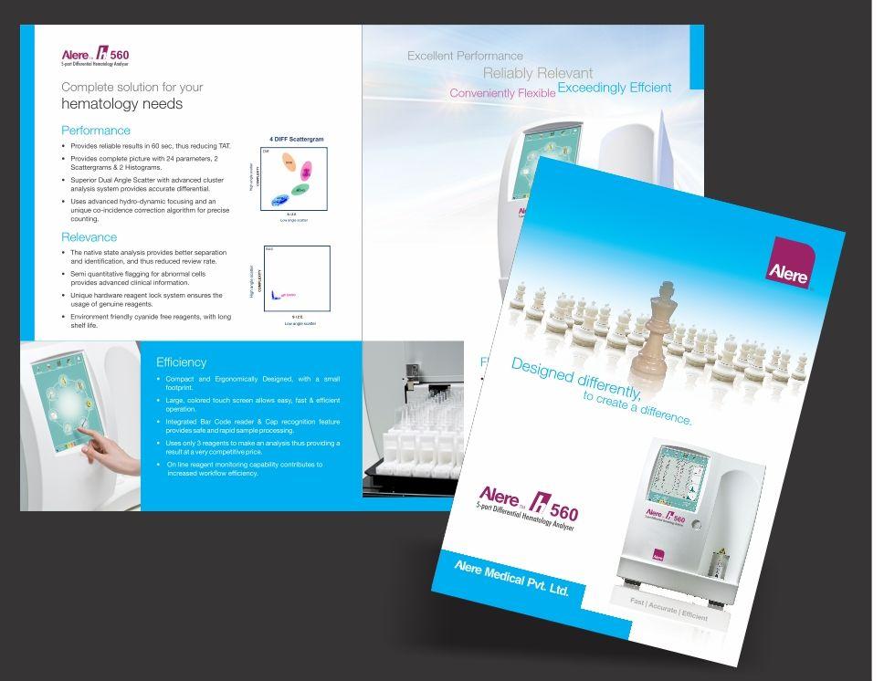 Product brochure for Alere Medical Brochure Pinterest Product