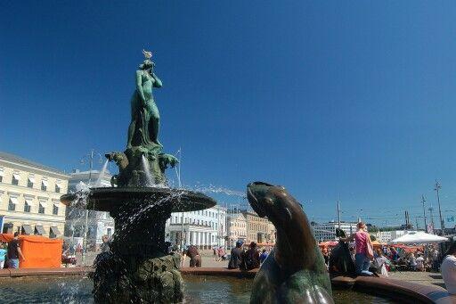 Helsinki - Havis Amanda fountain
