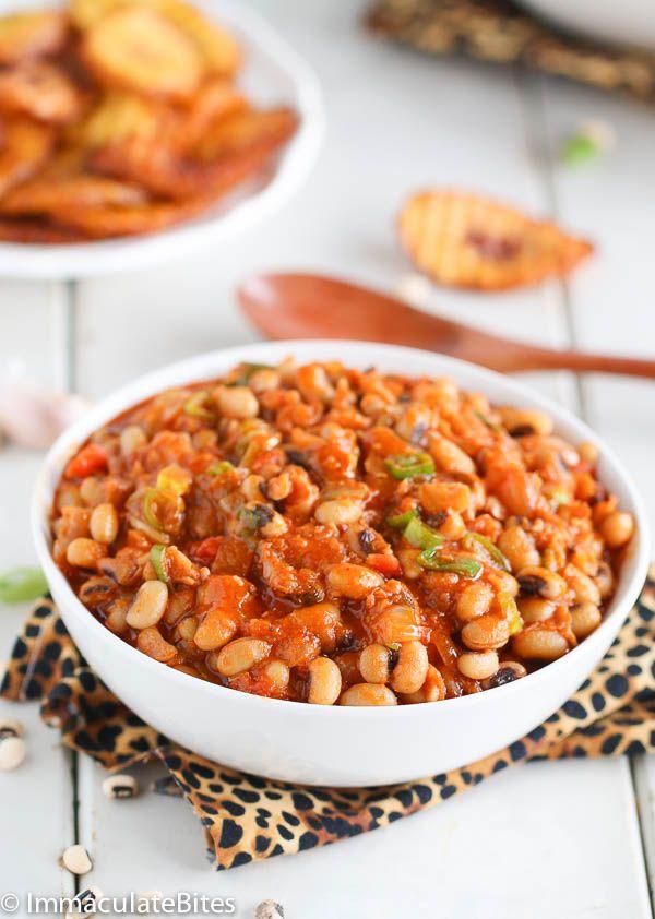 black eyed beans recept