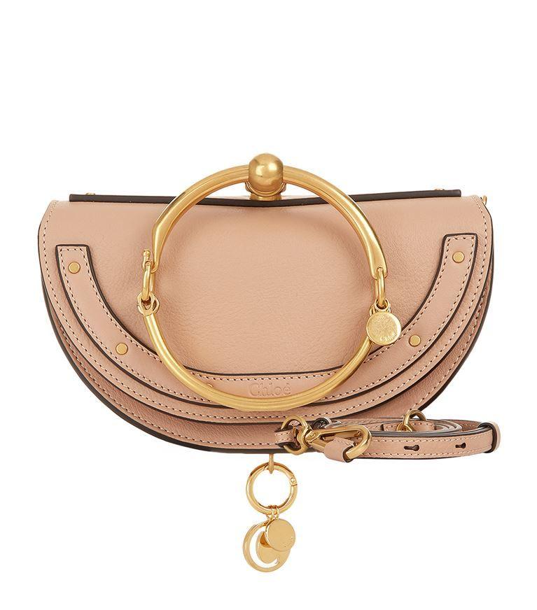 e3f83a08e4dba CHLOÉ Small Nile Half-Moon Bag.  chloé  bags  shoulder bags  hand bags   leather  charm  accessories