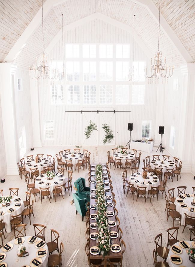 11 white wedding Barn ideas