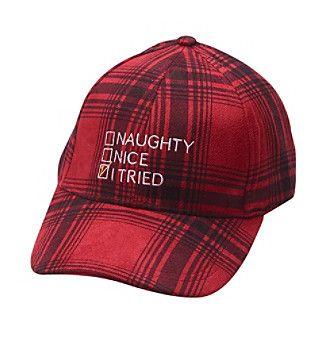 4df1d20ea6b Collection 18 Naughty Nice Baseball Hat