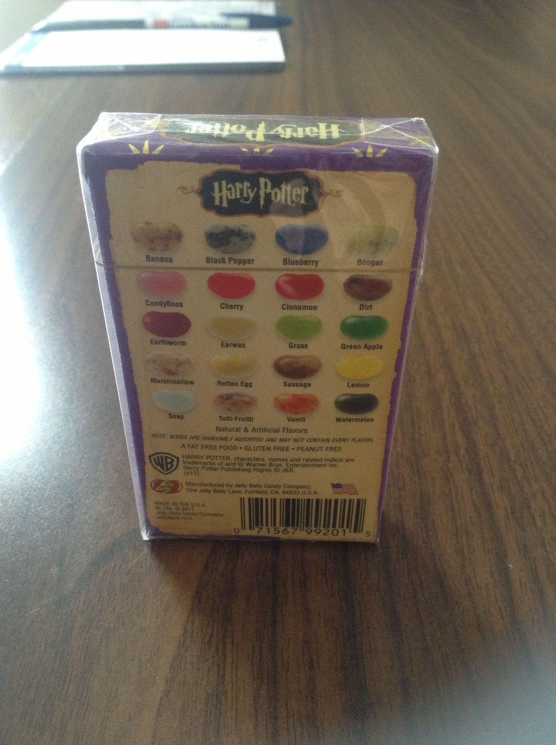 Bertie bott jelly beans from Harry potter try not to puke:)