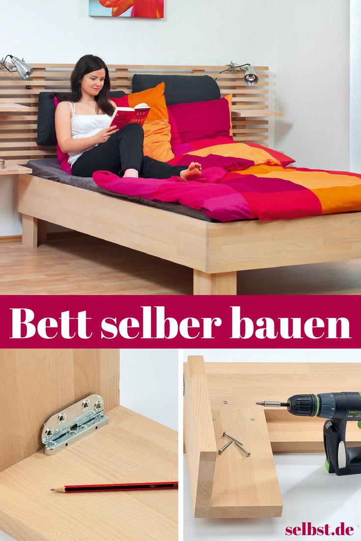 Bett Selber Bauen افكار Bedroom Home Decor Decor
