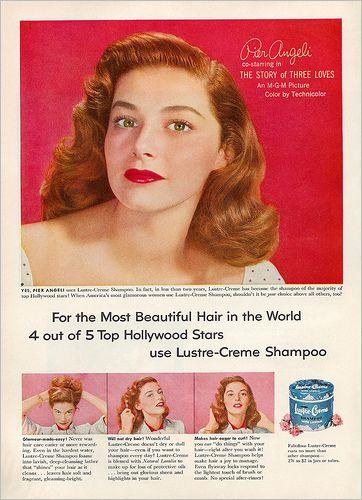 Lustre-Creme Shampoo <> Good Housekeeping Magazine - April 1953