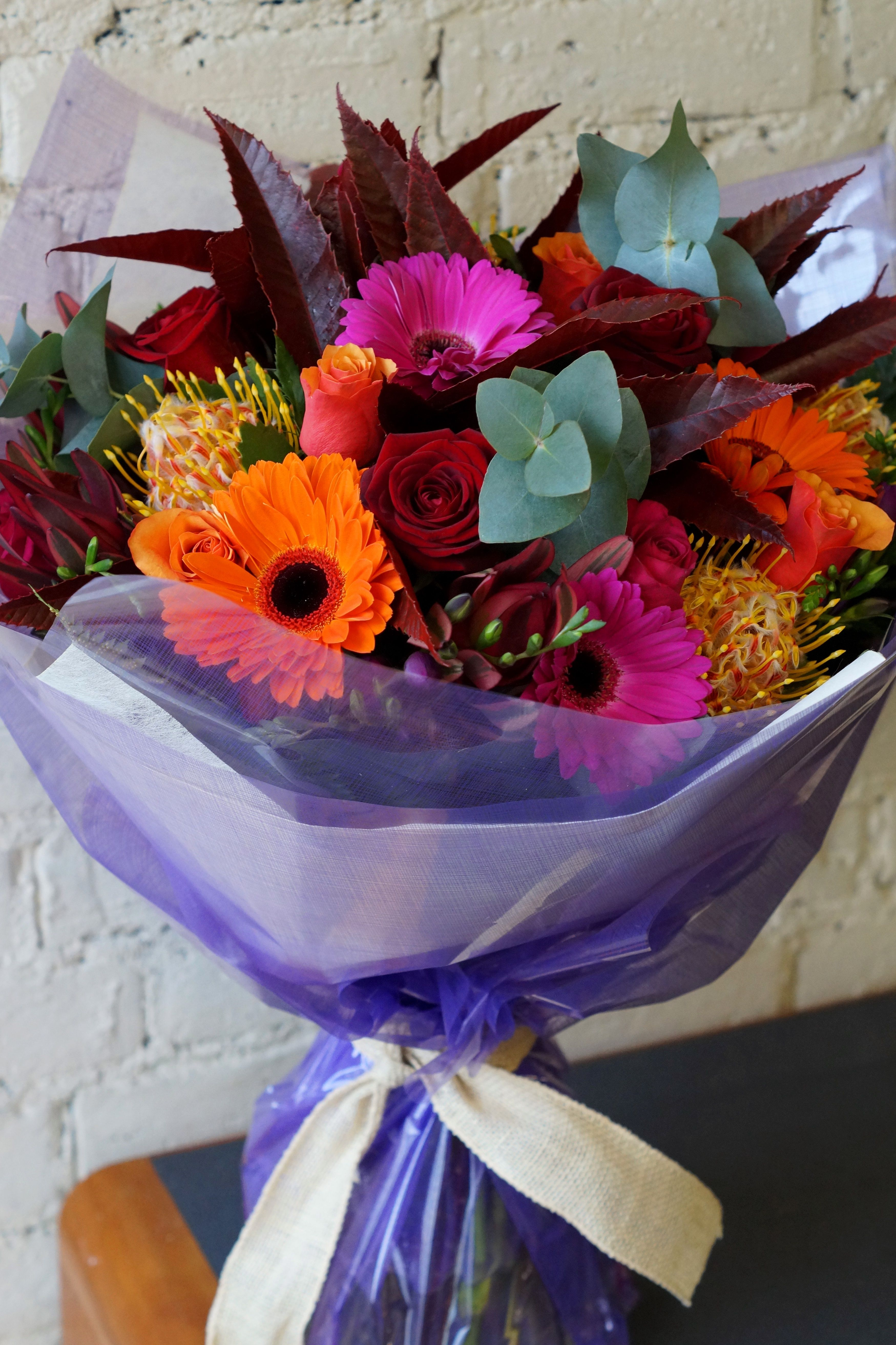Beautiful autumn flower bouquets delivered in belfast the weather beautiful autumn flower bouquets delivered in belfast the weather is miserable today but this autumnal izmirmasajfo
