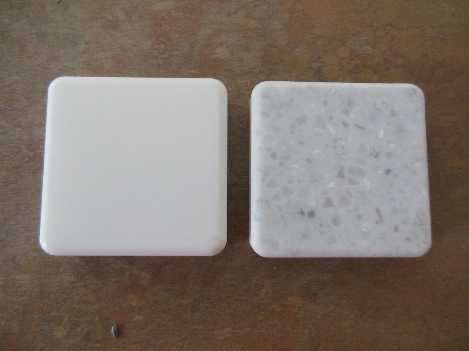 LG HI MACS Colors: Arctic White And Ripe Cotton. Granite Countertops Colors,