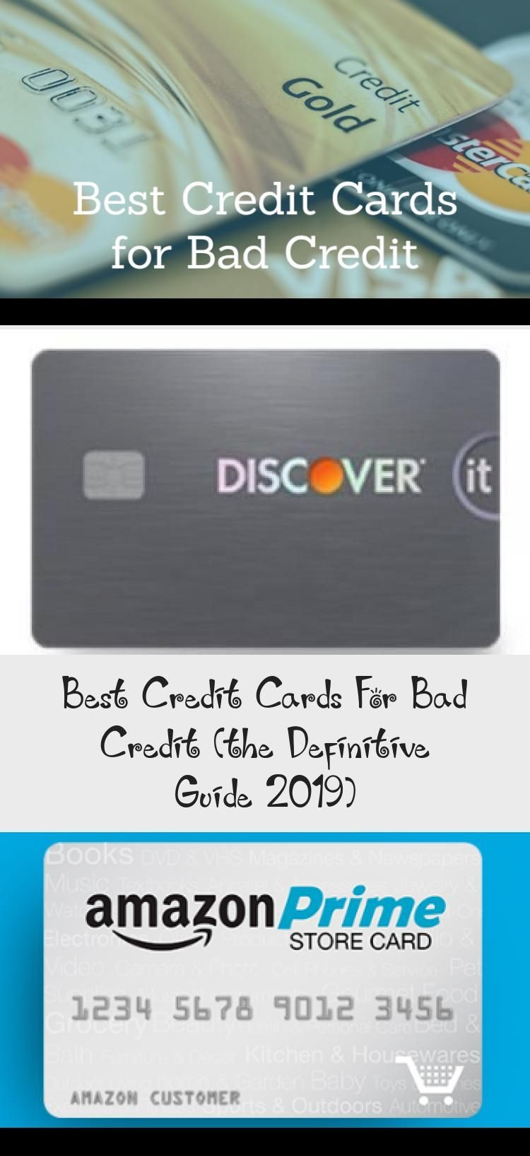 Best Credit Cards For Bad Credit The Definitive Guide 2019