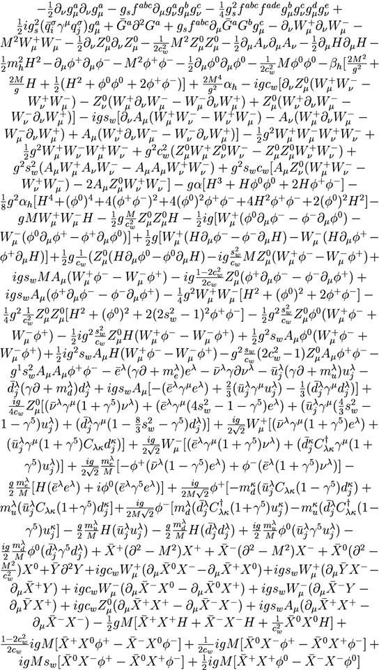 This awesome and long mathematical formulation is the