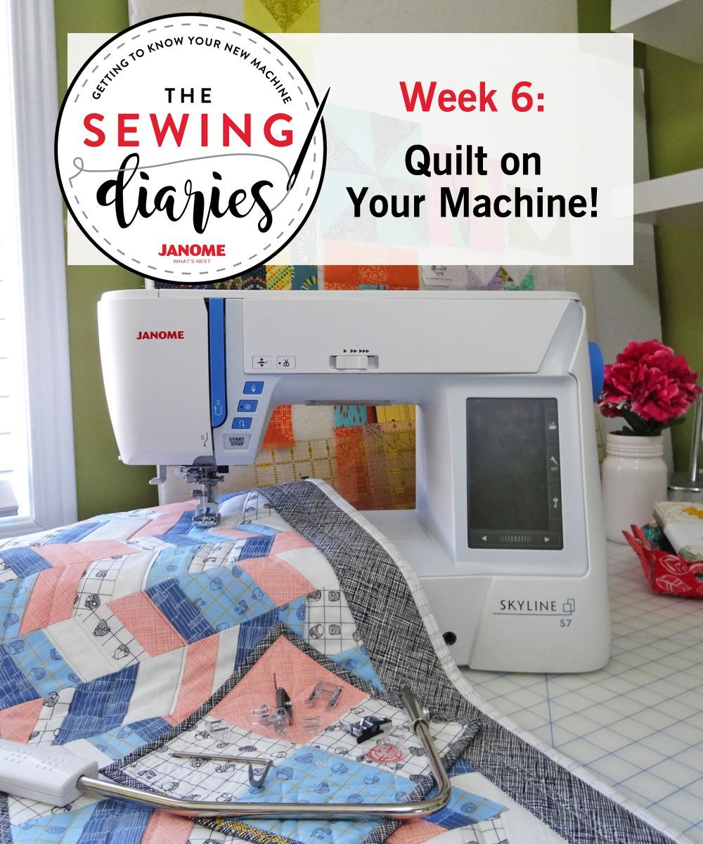 Quilting On A Janome Skyline S7