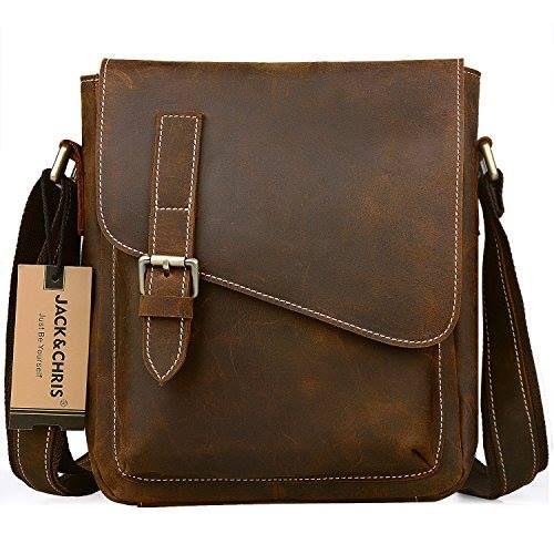 a2302eaaae Shop https   goo.gl vRchvt Jack Chris Handmade Men s Leather Messenger Bag