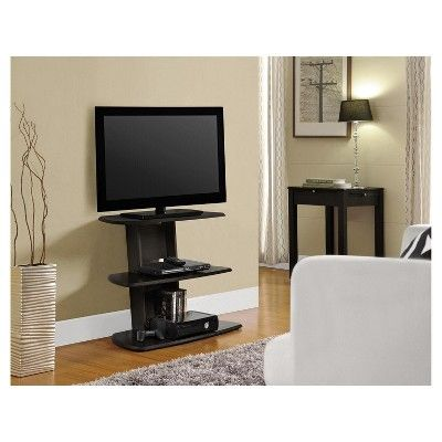 Solar Ii Tv Stand For Tvs Up To 32 Wide Espresso Room Joy