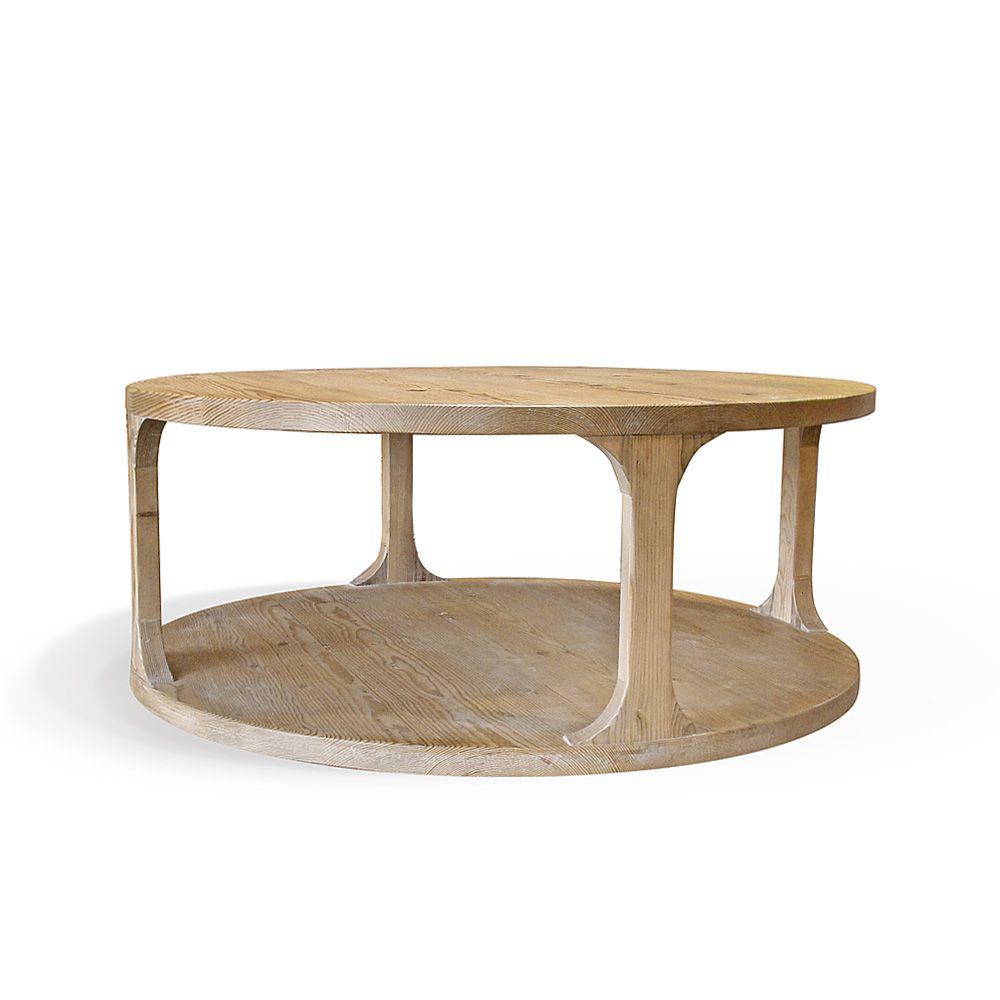 Amelia Round Coffee Table Coffee Table Round Coffee Table Solid Wood Coffee Table [ 1000 x 1000 Pixel ]