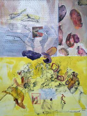 Les Mangeurs De Pommes De Terre : mangeurs, pommes, terre, Mangeurs, Pomme, Terre, Painting,, Artist, Painting