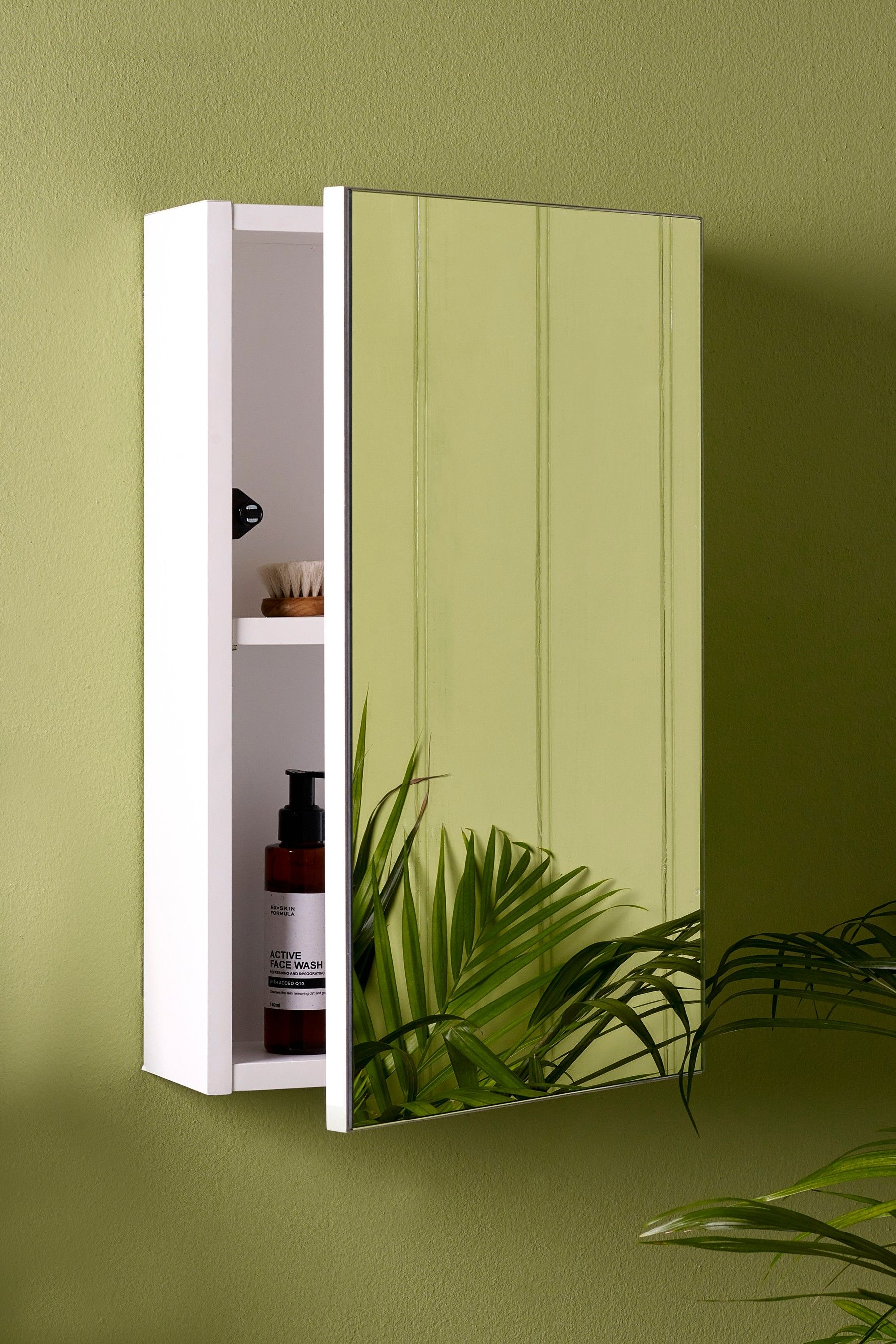 Next Witley Bathroom Single Cabinet White Mirror Cabinets