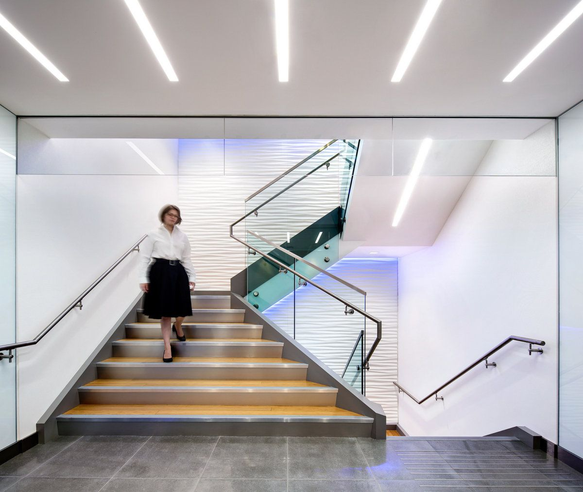 Office Tour KPMG Offices Vancouver Vancouver, Stairs