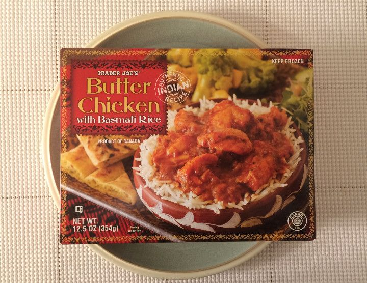 Trader Joes Butter Chicken With Basmati Rice Review Trader Joes