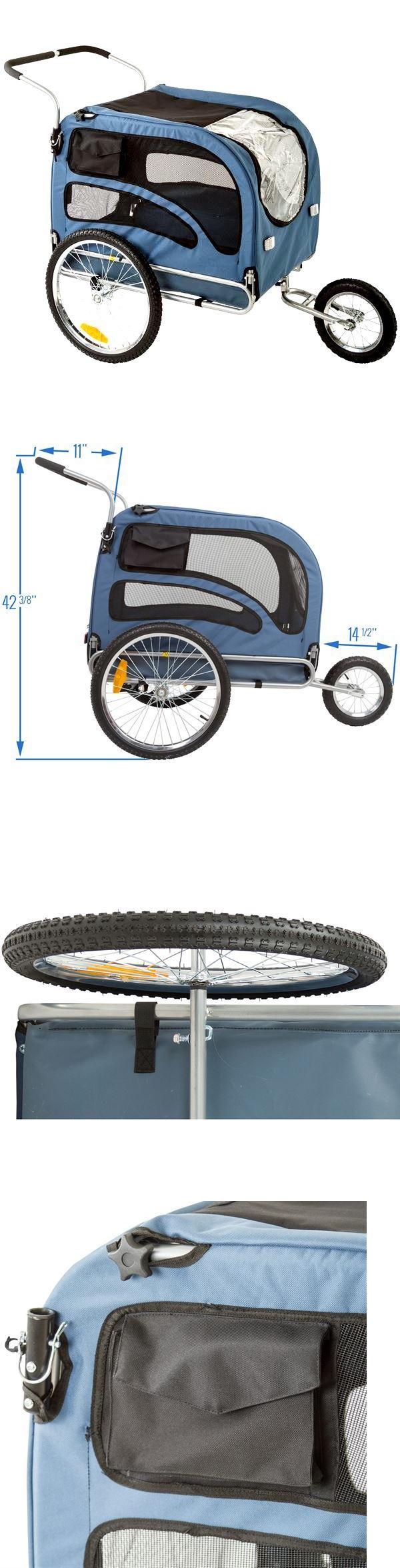 Bike baskets and trailers pound capacity dog trailer