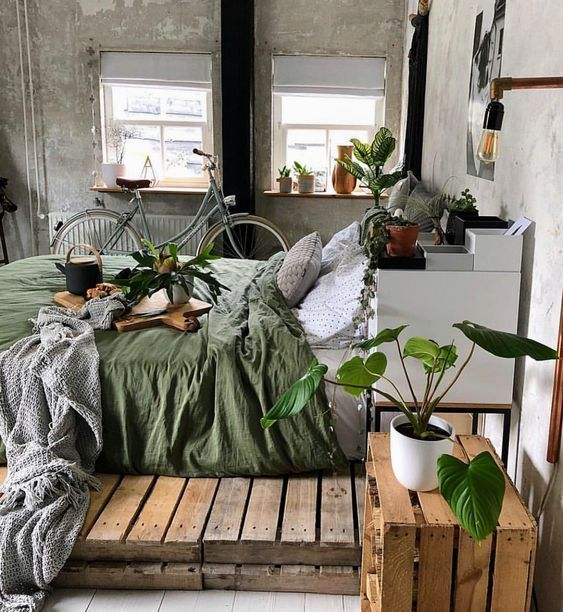 Photo of project inside 10 cozy bedrooms in green – Wood Design