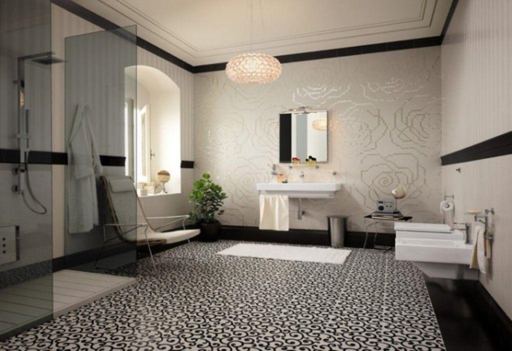 Hervorragend Design Mobel 15 überraschende Moderne Badezimmer Fussboden Fliesen Ideen  Und Modelle