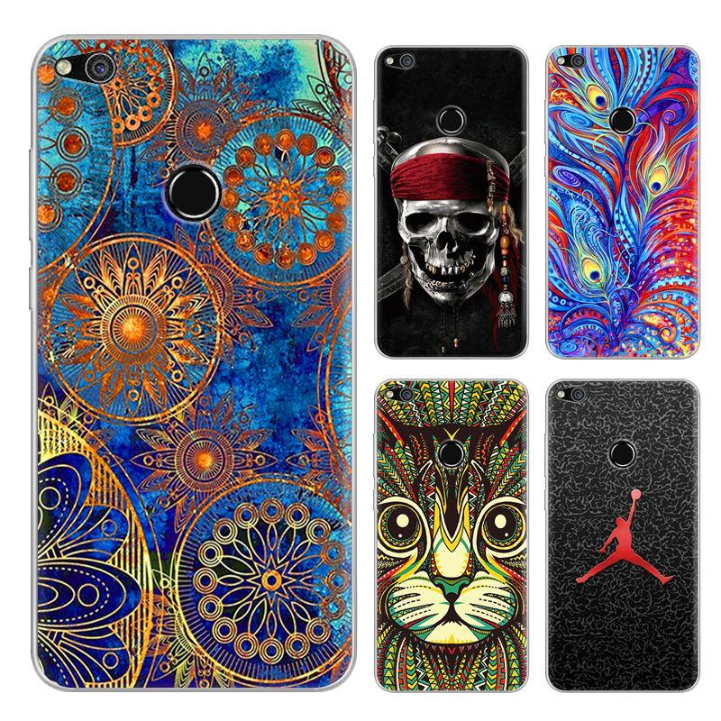 Newest Cases Cover For P8 Lite 2017 Tempered Glass Film Silicone Tpu Back Phones Fundas Cases Coque Capa P8 Lite 2017 Phone Cas Phone Cases Quality Paint Phone