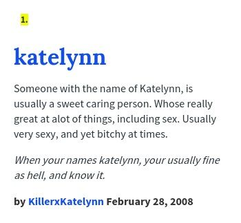 Katelynn Name Google Search Names With Meaning Urban Dictionary Find Your Name