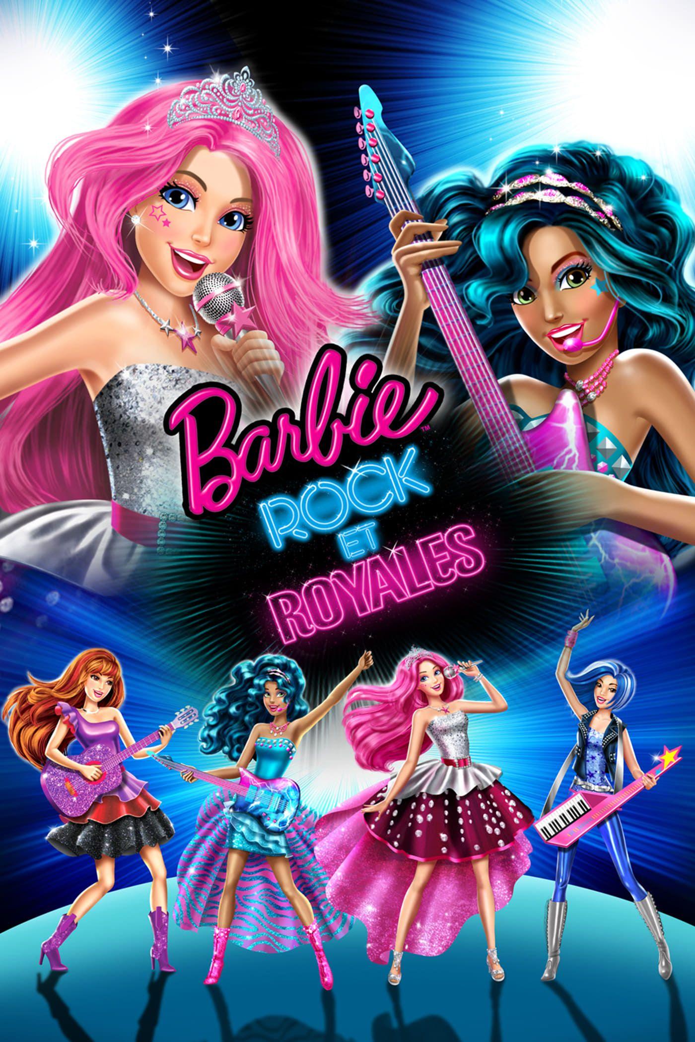 Voir Barbie Rock Et Royales 2015 En Streaming Vf Hd Barbie Prinzessin Filme Stream