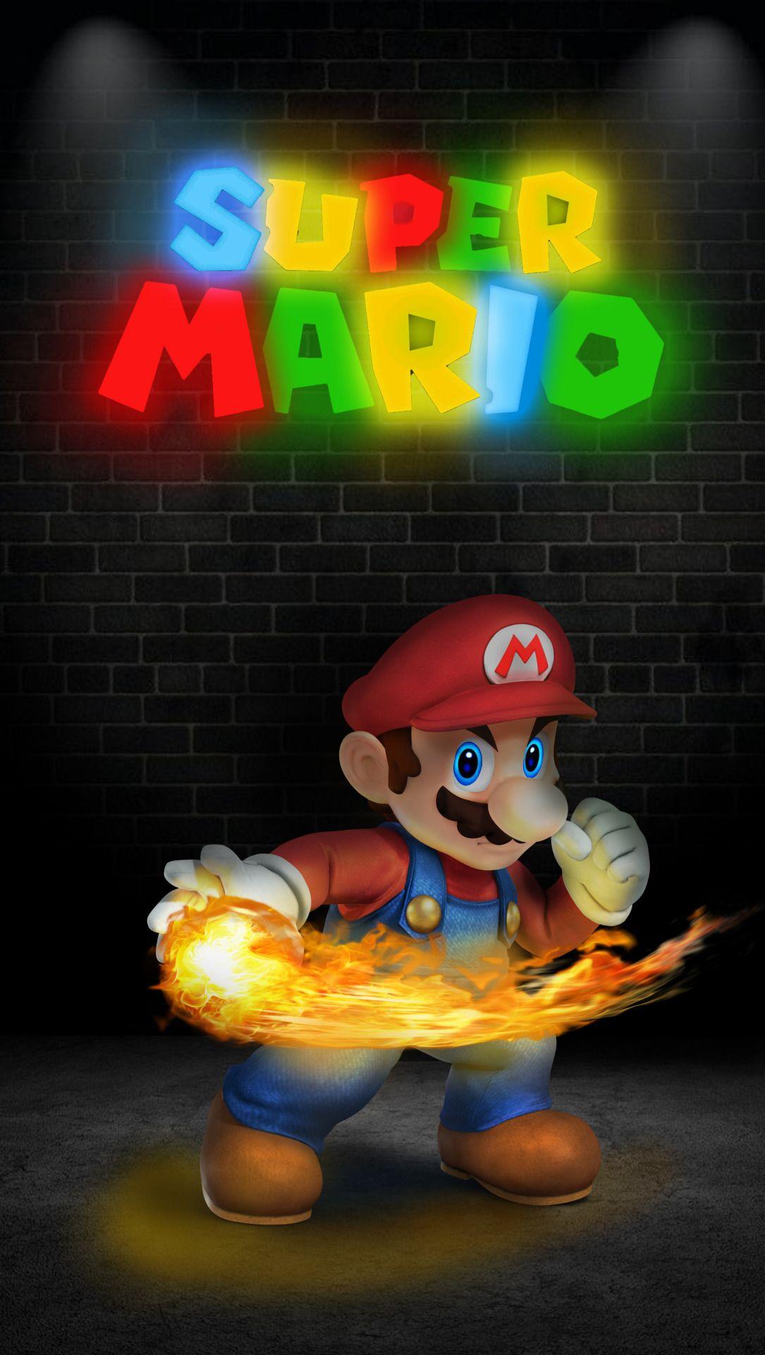 Super Mario Wallpapers Super Mario Bros Wallpapers For Mobile Phones Hd Super Mario Art Mario Bros Super Mario