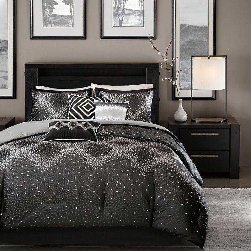 Madison Park Crawford 7 Pc Comforter Set Duvet Cover Sets