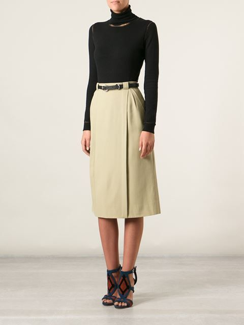 Céline Vintage A-line Skirt - A.n.g.e.l.o Vintage - Farfetch.com