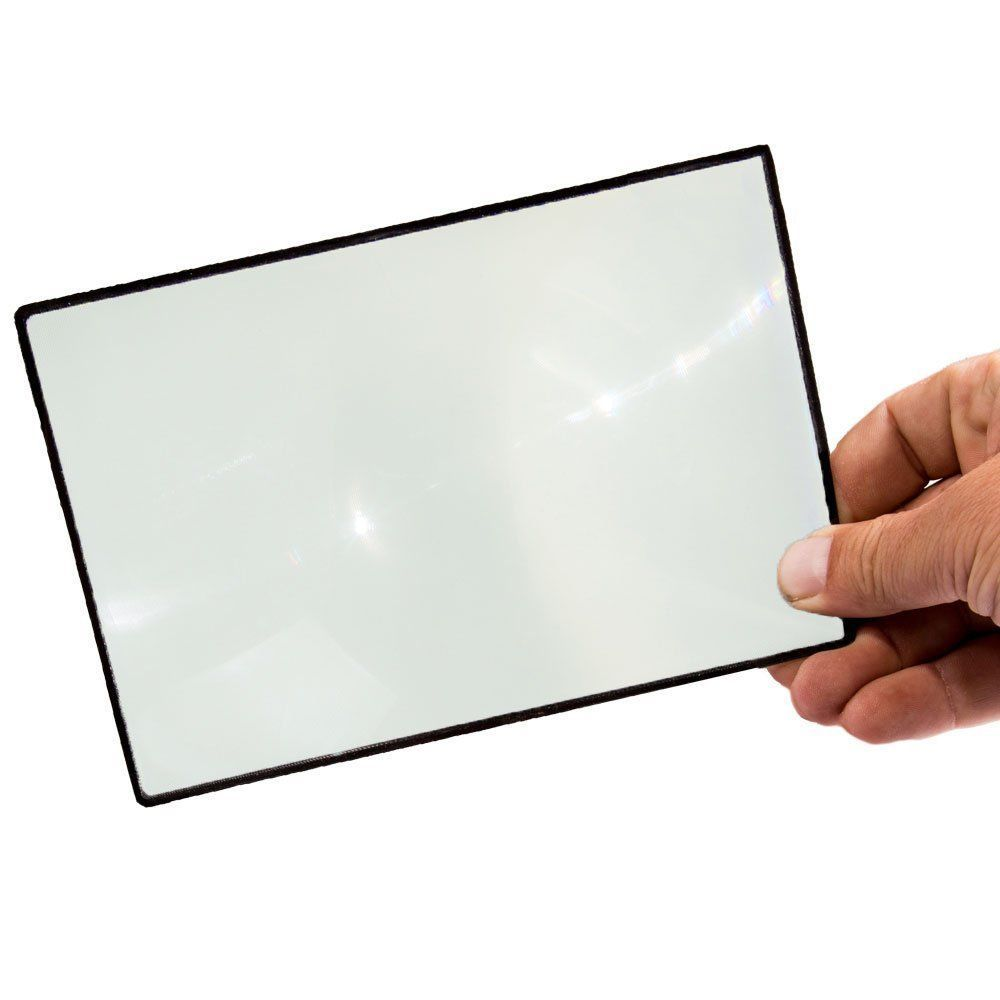 """Stakker Supplies Premium 7"""" Page Magnifier Fresnel Lens For Reading #StakkerSupplies"""